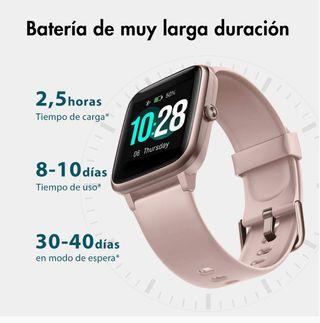 Smartwatch reloj inteligente rosa