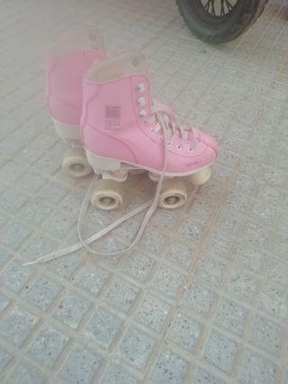patines de niña número 32 33