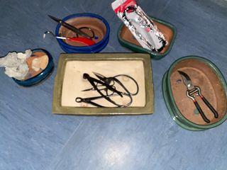 Macetas Bonsai y herramientas