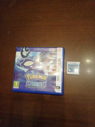 juego Nintendo 3ds. Pokémon Zafiro alfa