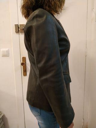 chaqueta americana de piel chica