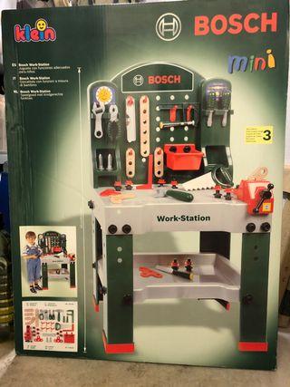 Banco de trabajo Bosch juguete