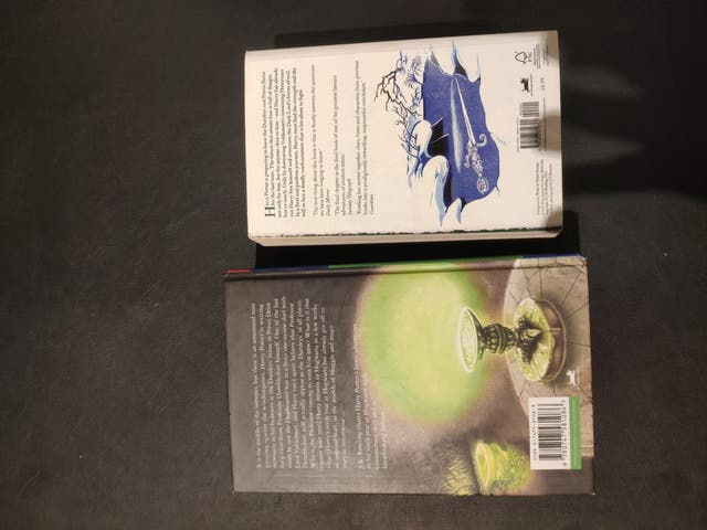 Libros Harry Potter inglés primera edición