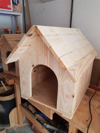Caseta para perro tamaño M
