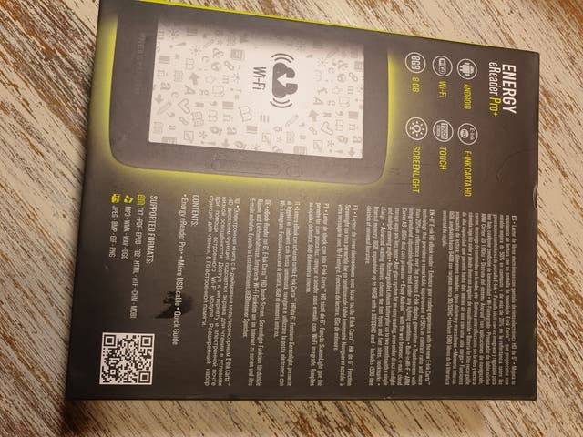 libro electrónico eReader Energy Pro+