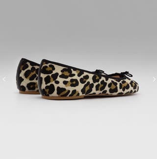 Bailarinas - Manoletinas leopardo Betties