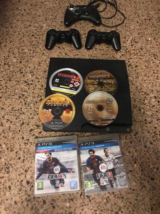Play 3 mas juegos y mandos