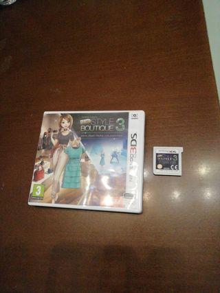 Jugo Nintendo 3ds. New Style Boutique 3