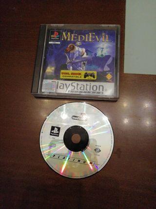 Juego play Station I. Medí Evil