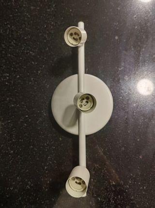 lámpara 3 halógenos