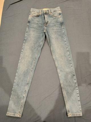 Topshop High Waist Skinny Jeans