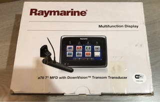 """Raymarine A78 7"""" MDF with downvision"""