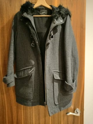 Mango Hooded Coat