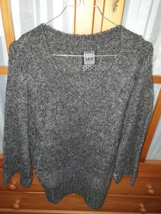 jersey largo gris talla M