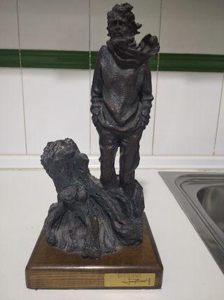 escultura de Resina laminada bronce Josep Bofill
