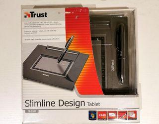 Slimline Design Table, lápiz para pc marca Trust.