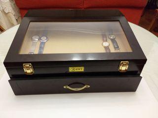 mueble vitrina expositor relojes, joyas....