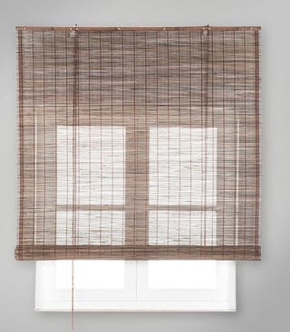 Persianas bambú enrollable