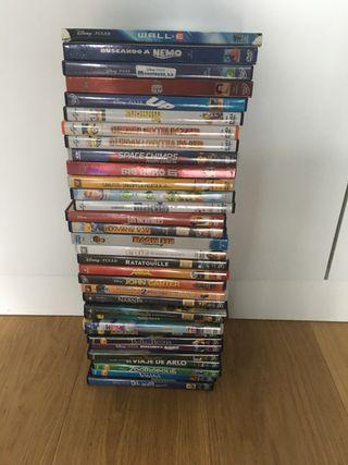 [DISNEY & Co] Pack 33 DVDs