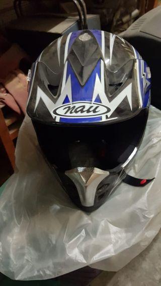 Casco moto cross XL