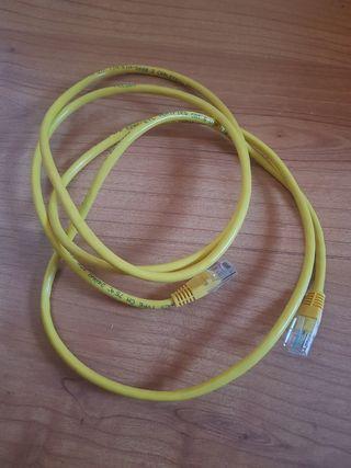 Cable de red 1,5m. Categoría 5