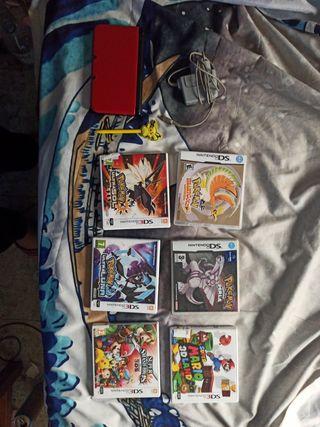Nintendo 3ds XL + 6 Juegos PACK!