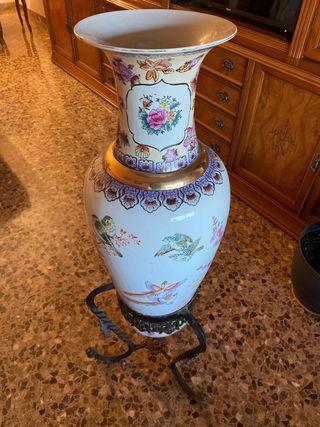 Jarrón chino decoración