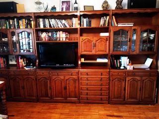 Mueble de salon y sofa