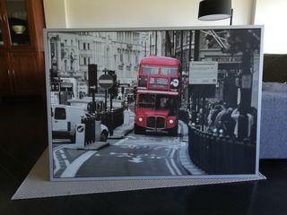 cuadro Ikea Autobús Londres