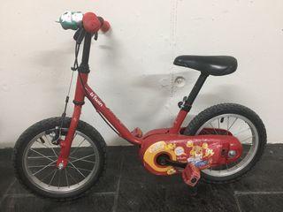"""Bici decathlon 14"""""""