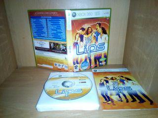 Lips (2008) xbox 360