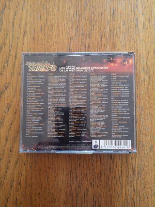 4 CD Las 100 mejores canciones Operación Triunfo