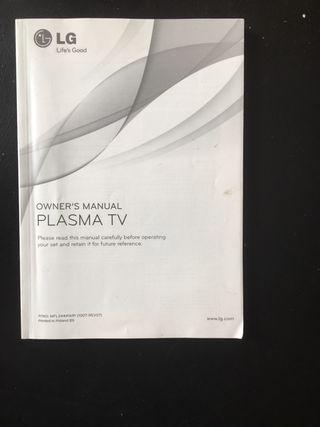 LG plasma TV 42'