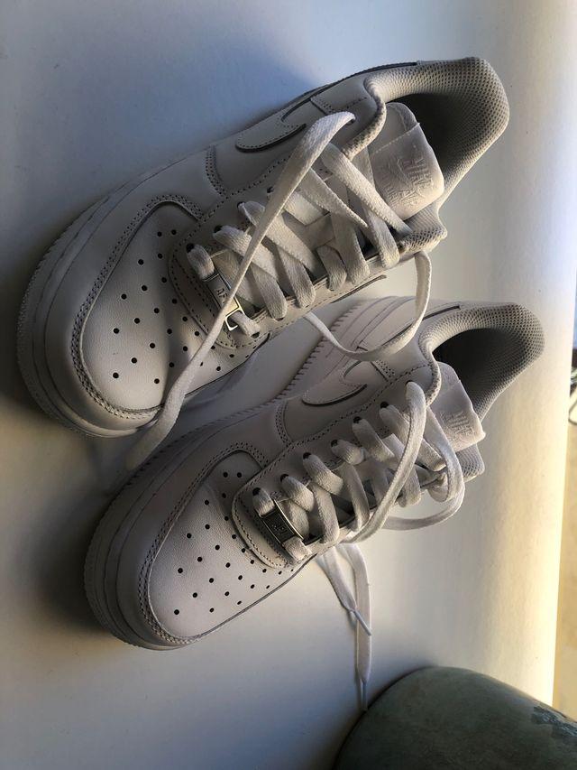 posterior Finito ingeniero  Nike air force talla 37 mujer de segunda mano por 60 € en Santander en  WALLAPOP