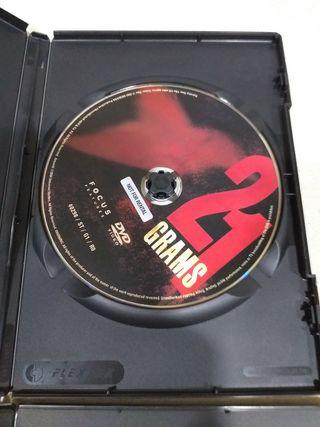 DOS DVD LAGRINAS DE SOL Y 21 GRAMOS