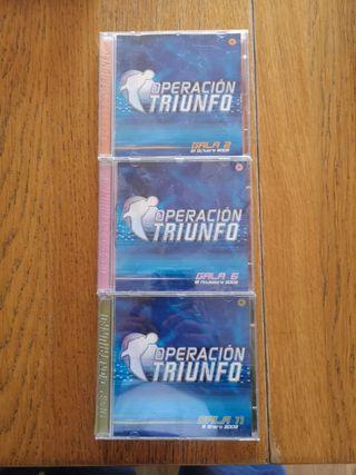 CDs Operación Triunfo 2002