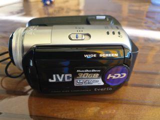 cámara de video jvc 30 gigas disco duro