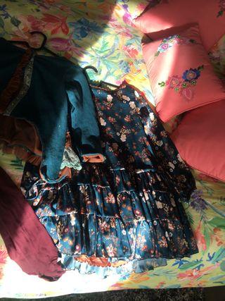 Vestido chaqueta talla 10 querida philippa