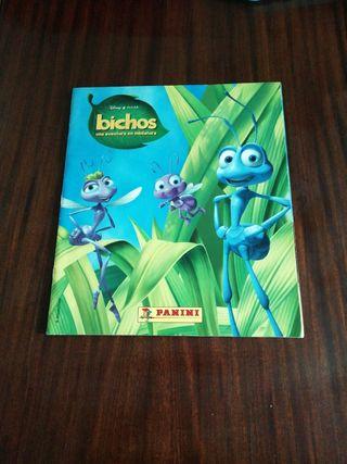 album de cromos Bichos