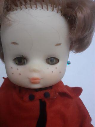 muñeca lesly cuatro pecas