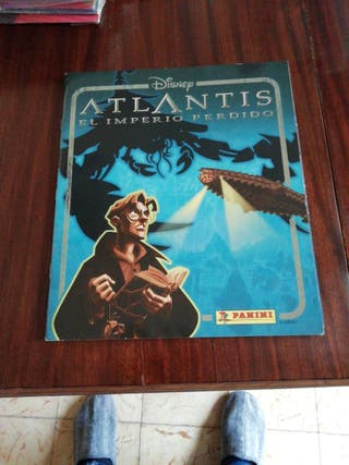 album cromos Atlantis completo