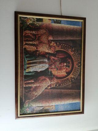 puzzle 500 enmarcado