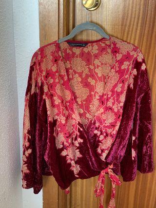Kimono- Blusa Zara
