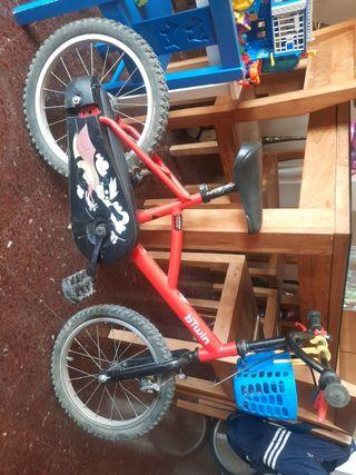 bicicleta 3-6 años