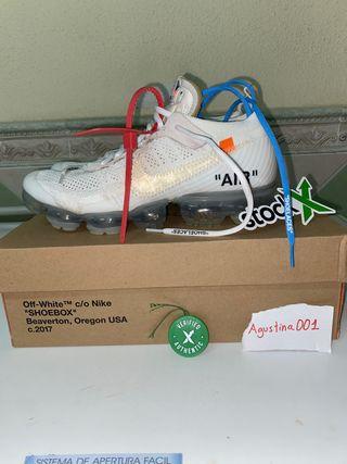 Nike Air Vapormax X Off White White