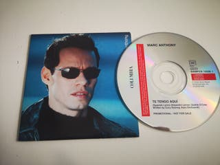CD SINGLE MARC ANTHONY - TE TENGO AQUI