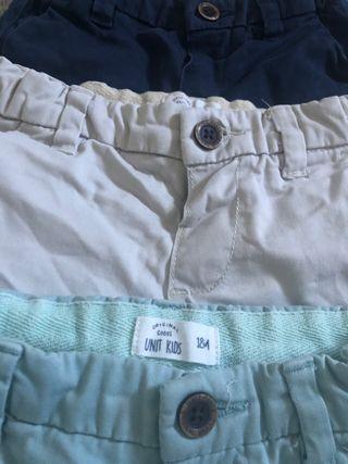 Pack pantalones cortos 18 meses