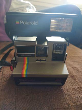 Cámara foto Polaroid vintage
