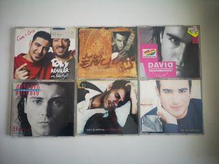 LOTE 6 CD SINGLE PROMOCIONALES