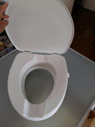 alza de lavabo con tapa